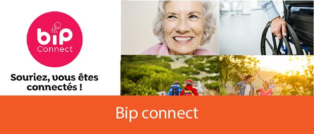 Solutions de sécurité Bip connect pour les personnes âgées
