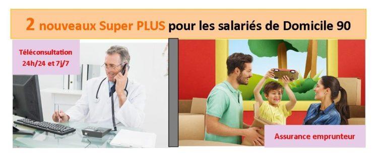 Deux nouveaux avantages pour les salariés de Domicile 90