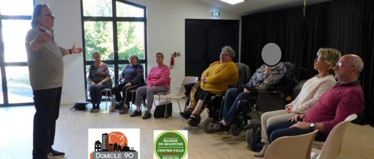 Géronte au logis : du théâtre pour réunir jeunes retraités et personnes très âgées