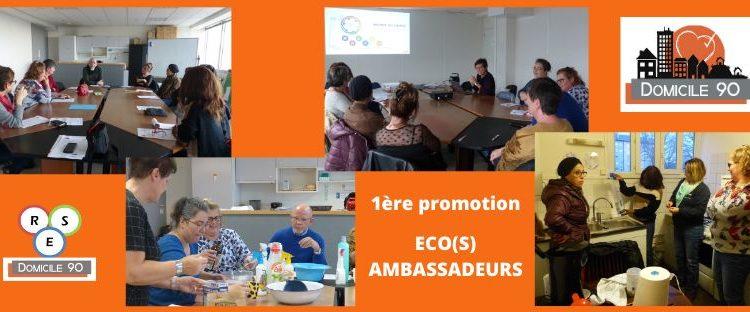 1ère promotion des ECO(S) AMBASSADEURS