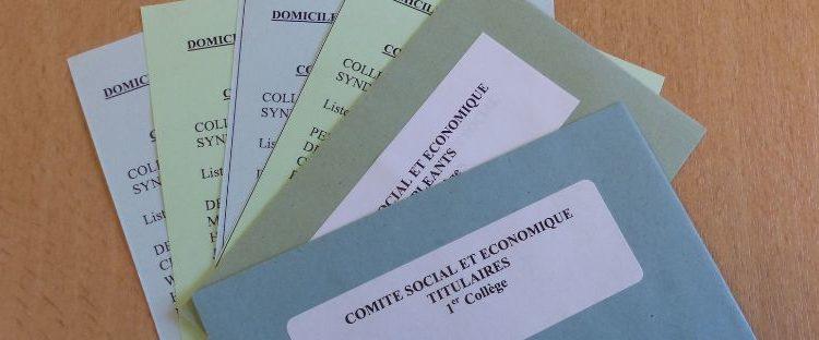 Elections au Comité Social et Economique