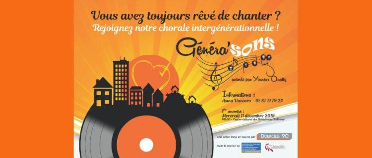 Chorale intergénérationnelle Généra'Sons : La voix vectrice de lien social