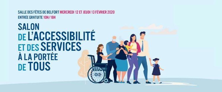 12 & 13 février 2020 : Premier Salon de l'accessibilité et des services à la portée de tous à Belfort